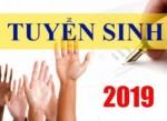 Thông báo tuyển sinh bậc cao đẳng năm 2019