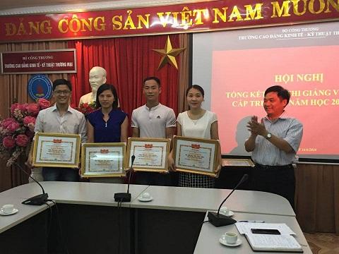 Hội thi giảng viên giỏi cấp trường năm học 2015-2016