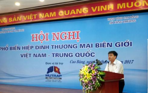 hoi nghi thuong mai Viet Trung ts nguyen van hoi